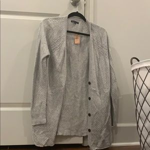 Grey American eagle cardigan